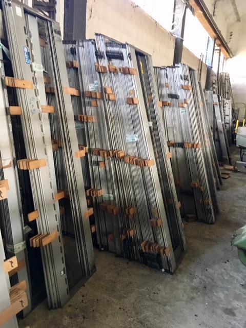 textile heald frames